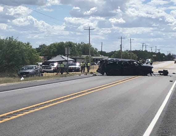 At least 5 immigrants dead after high-speed crash