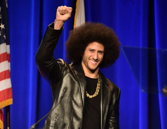 Kaepernick speaks to detainees at Rikers Island