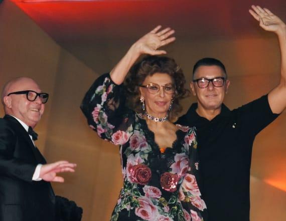 Sophia Loren's timeless beauty stole the show