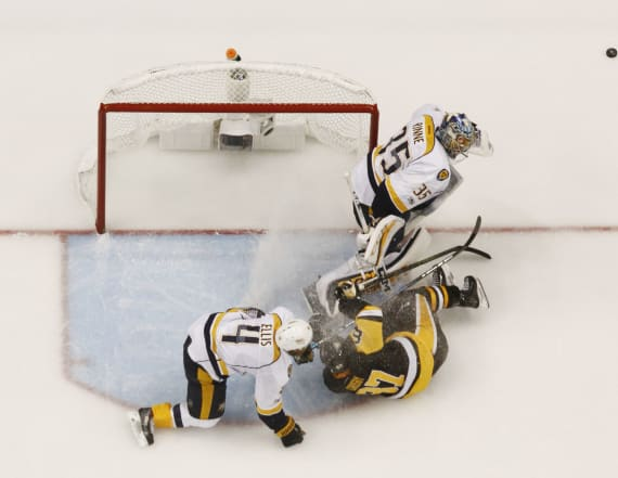 Stanley Cup opens: Penguins bash Predators