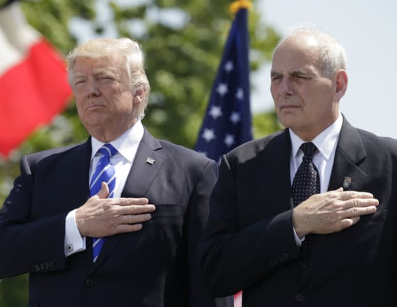 Trump names John Kelly as White House chief of staff