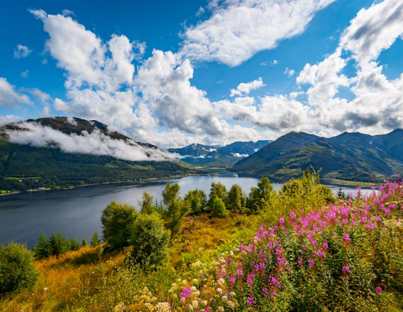 Scotland voted 'most beautiful' country in the world