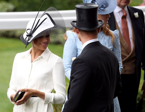 Meghan Markle channels 'My Fair Lady' in Givenchy