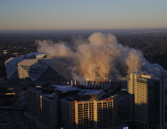Georgia Dome demolished after 25 years