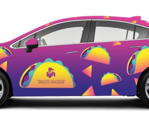 Lyft will now stop at Taco Bell on the way home