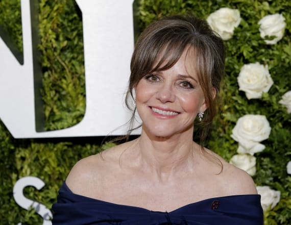 Sally Field plays cupid between Rippon and her son