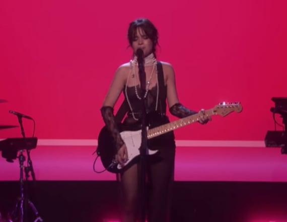Camila Cabello criticized for fake guitar skills