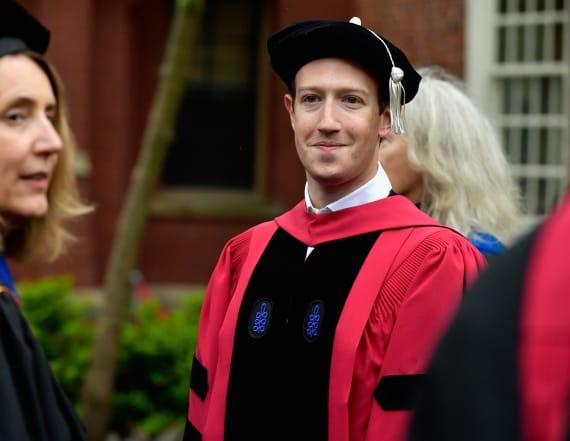 Hacker trolls Zuckerberg by defacing Harvard paper