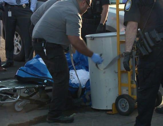 Police identify body found in barrel floating in bay
