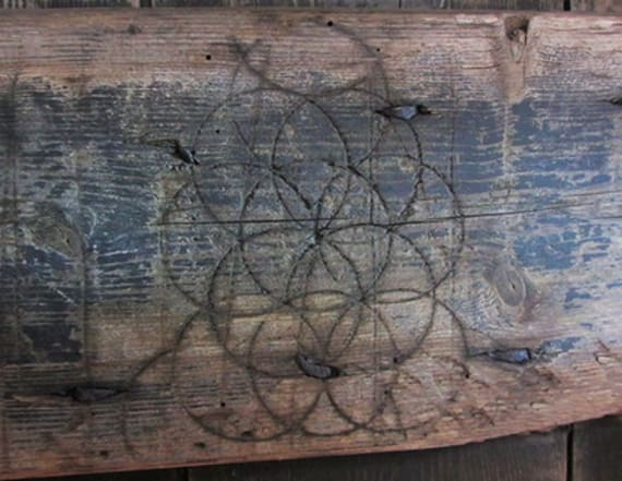 Eerie witchcraft symbols discovered across country