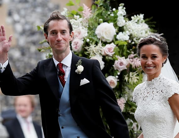 Take a look at Pippa Middleton's wedding invitations