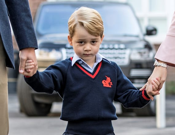 Prince George's first day of school is nearly here