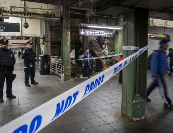 US slaps terror charges on NYC subway bomb suspect