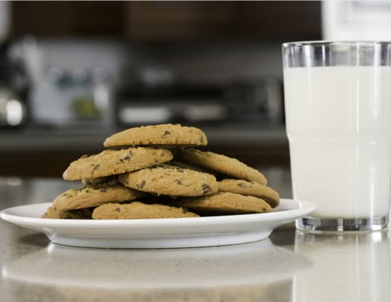 The real reason we drink milk after eating cookies