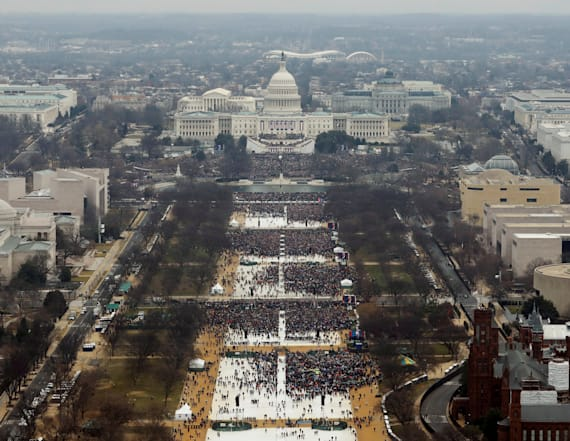 Trump sent Spicer to argue crowd size was wrong
