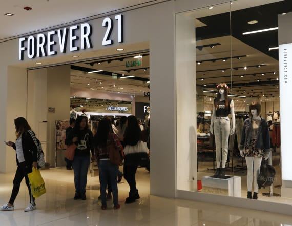 Forever 21 accused of ripping off iconic T-shirt