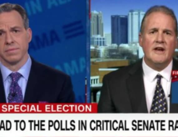 Jake Tapper fact checks Moore's spokesman