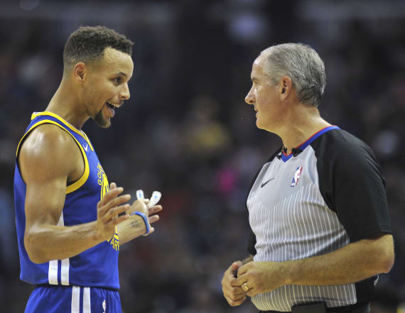 Curry and Durant ejected after dispute with referee
