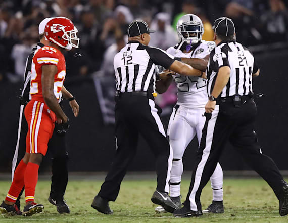 Marshawn Lynch ejected from primetime game
