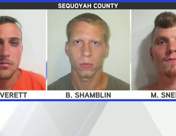 Three men who confessed to killing friend released