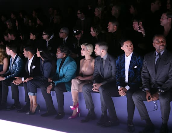 Celebrities sit front row at NYFW