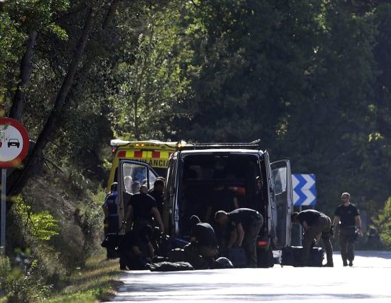 Spanish police: Barcelona attack suspect shot dead