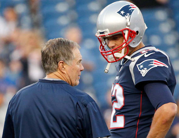 Belichick has great reaction to Tom Brady's book