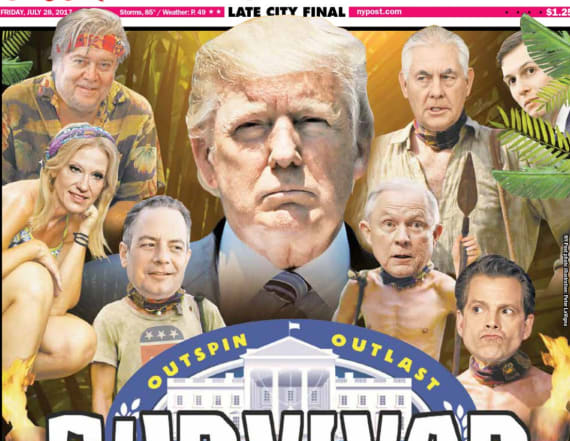 NY Post roasts Trump White House with epic cover