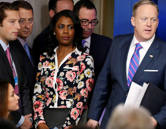 Omarosa's WH ouster allegedly tied to racial tension