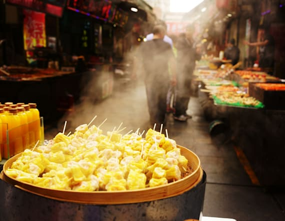 American 'Chinese' food is not the real deal