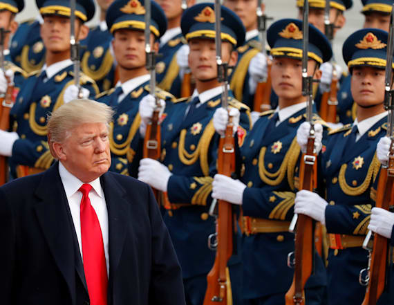 Army officers on Trump's Asia trip are being probed