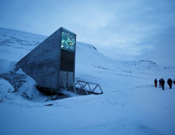 Arctic 'doomsday vault' may be in danger