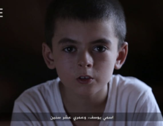 ISIS video features boy who says he's American
