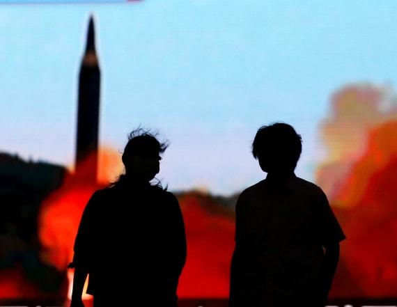 North Korea posters boast US in 'strike range'