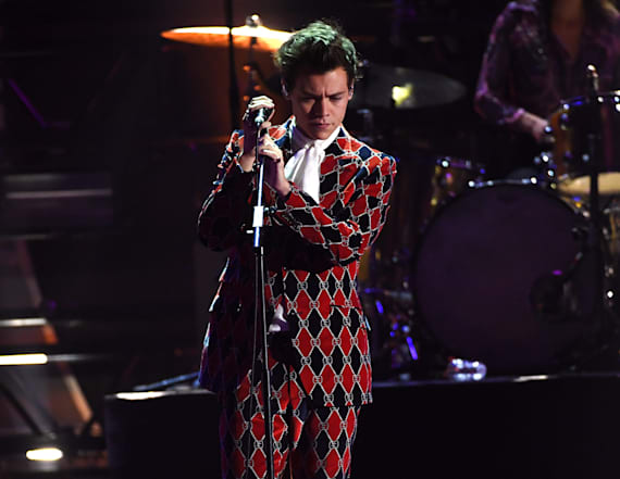 Harry Styles grabbed in crotch during concert