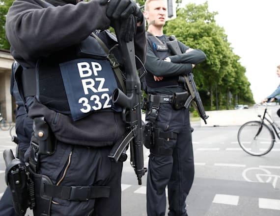German police make arrests ahead of Obama visit