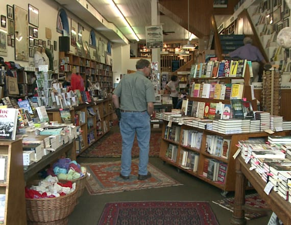 Bookstore opposes tax-free guns with tax-free books