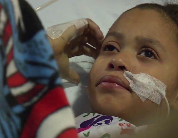 Mom says child's headache led to emergency surgery