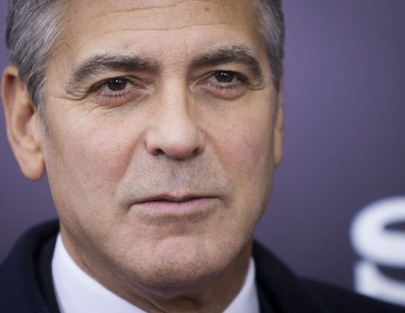 George Clooney incensed by illicit photos of twins