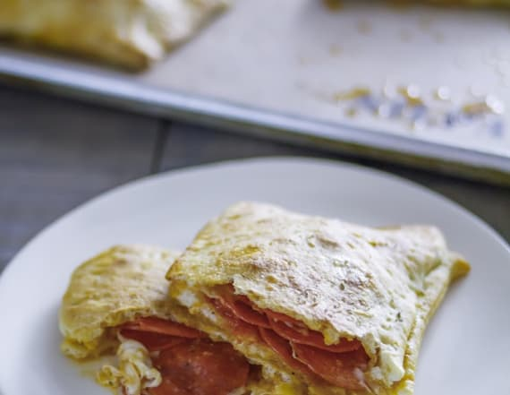 Best Bites: Pepperoni pizza pockets