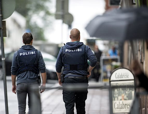 Finnish stabbings treated as terror-related