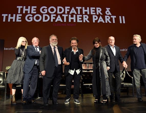 'The Godfather' cast reunite for 45th anniversary