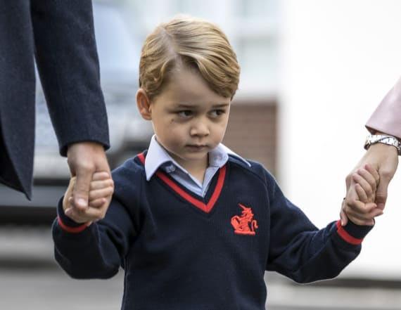 How Prince George is faring in new school