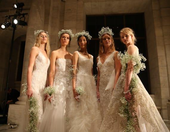 Reem Acra wins bridal week