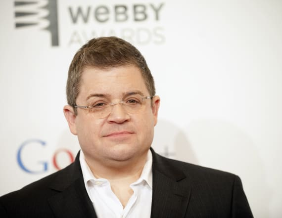 Patton Oswalt talks engagement, dealing with grief