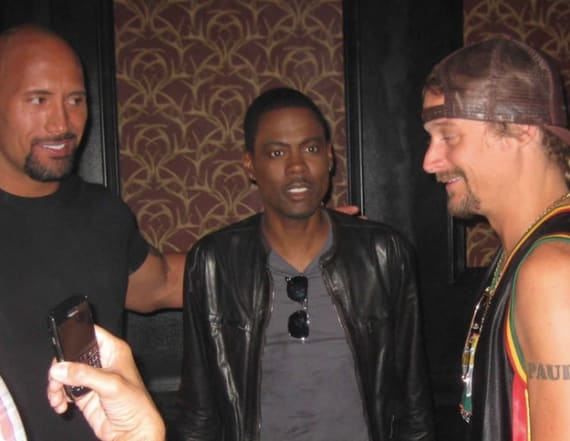 Pic: Kid Rock, Chris Rock, The Rock all together