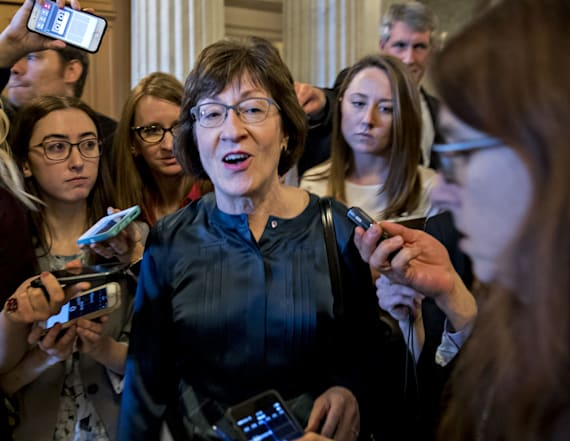 Collins wants more middle income help in tax bill