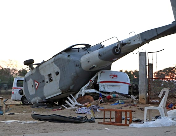 Mexico helicopter crash kills 13 after earthquake