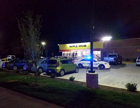 Witness says Waffle House 'hero' stopped gunman