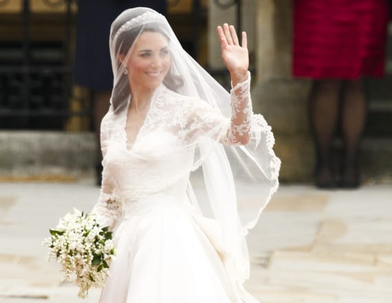 There was a hidden feature in Kate's wedding gown
